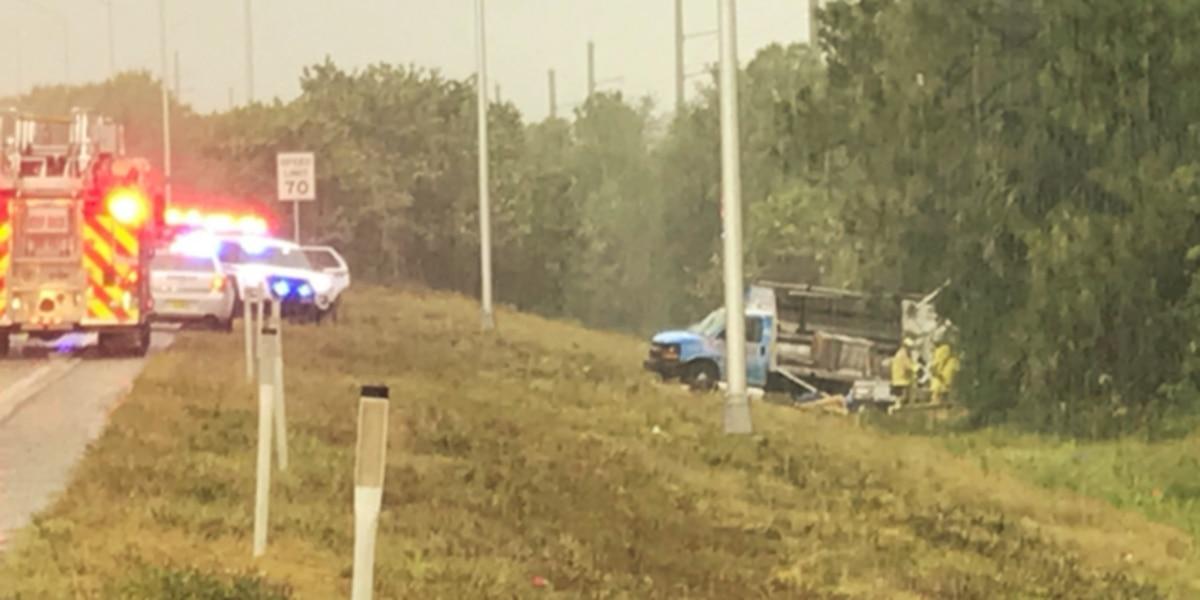 Crash snarls traffic on NB I-95 near Stuart