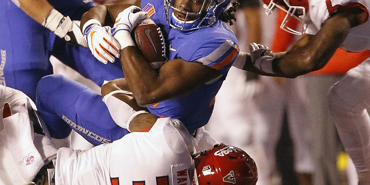 Rypien leads Boise State past No. 16 Fresno State 24-17