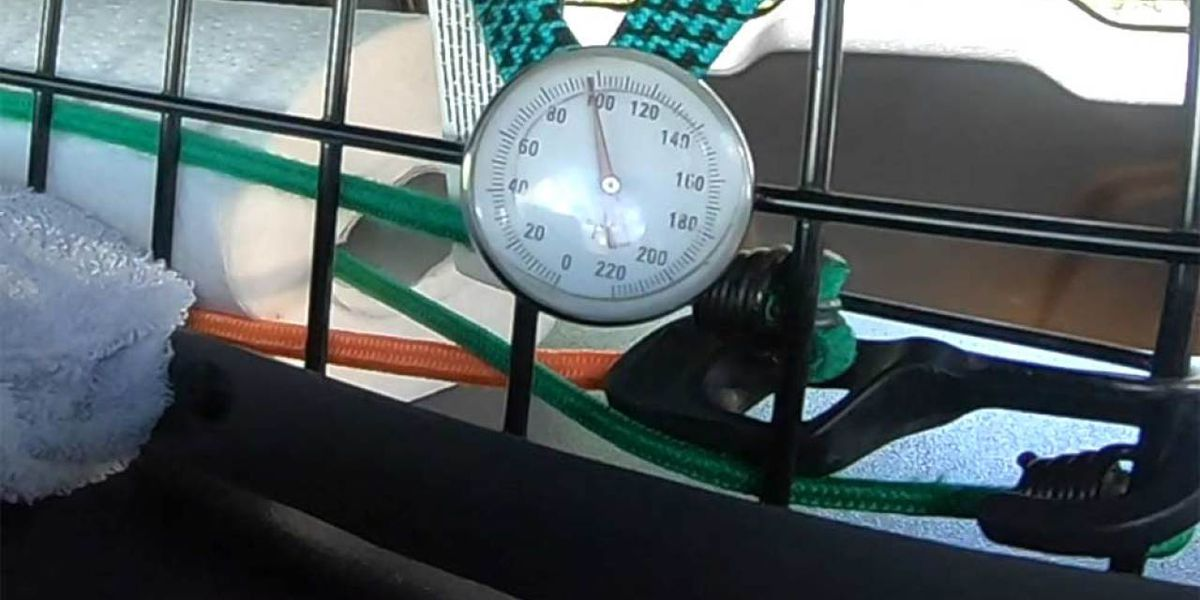 Martin County Sheriff's Office shows how quickly temps can soar in a vehicle, become deadly