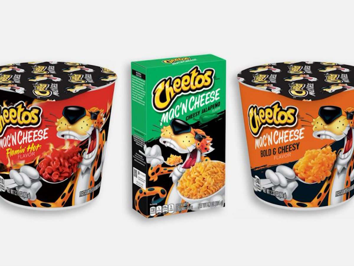 Cheetos Mac 'n' Cheese comes out this weekend