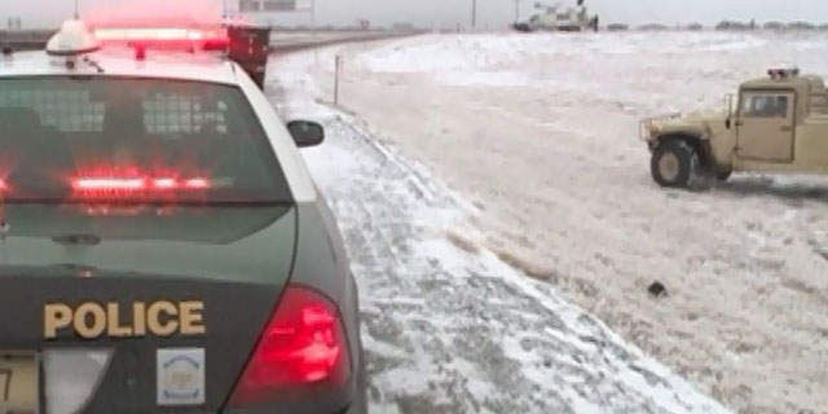 Winter storm slams parts of US, causes accidents
