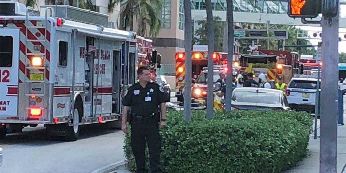 White powder found at West Palm Beach Courthouse deemed safe, officials say