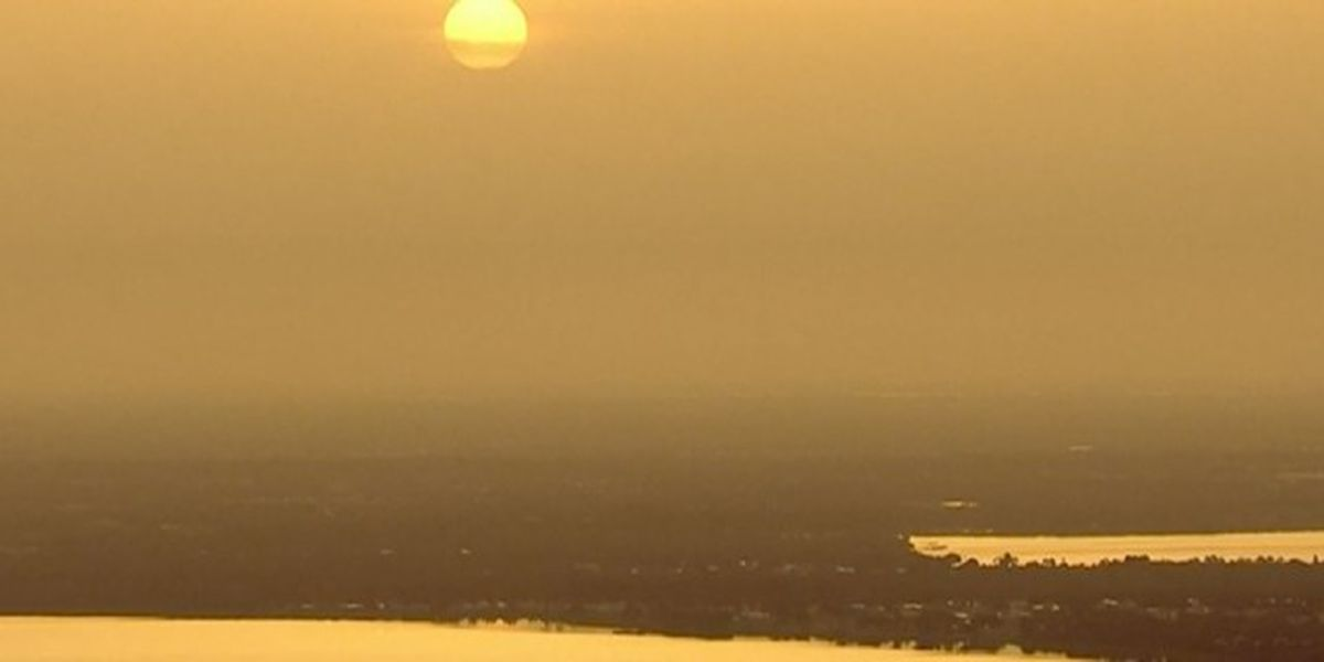 What are the health impacts of Saharan dust?