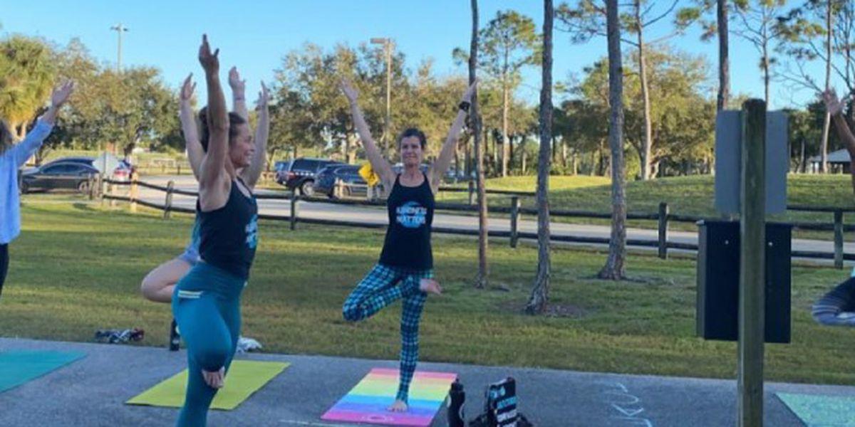 Boca Raton woman helps educators manage stress with free yoga