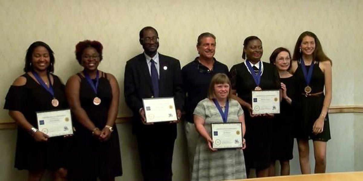 Jefferson Award winners honored