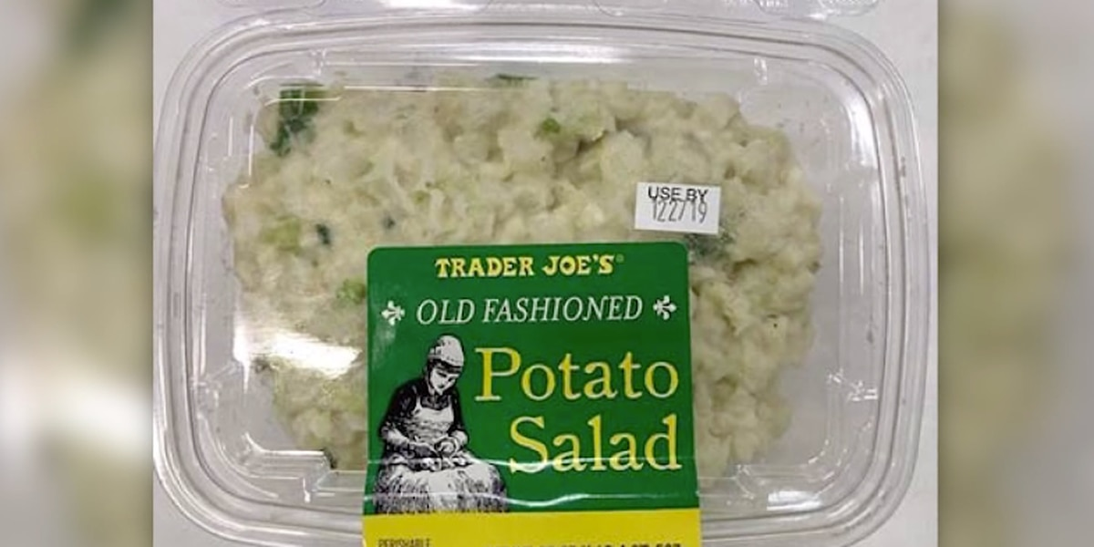 Trader Joe's Egg, Potato Salad Recall Due to Listeria