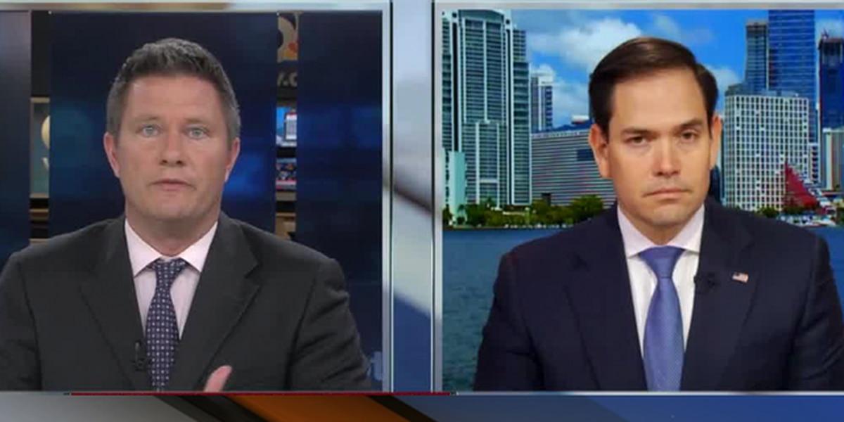 Sen. Rubio discusses plan to end school violence