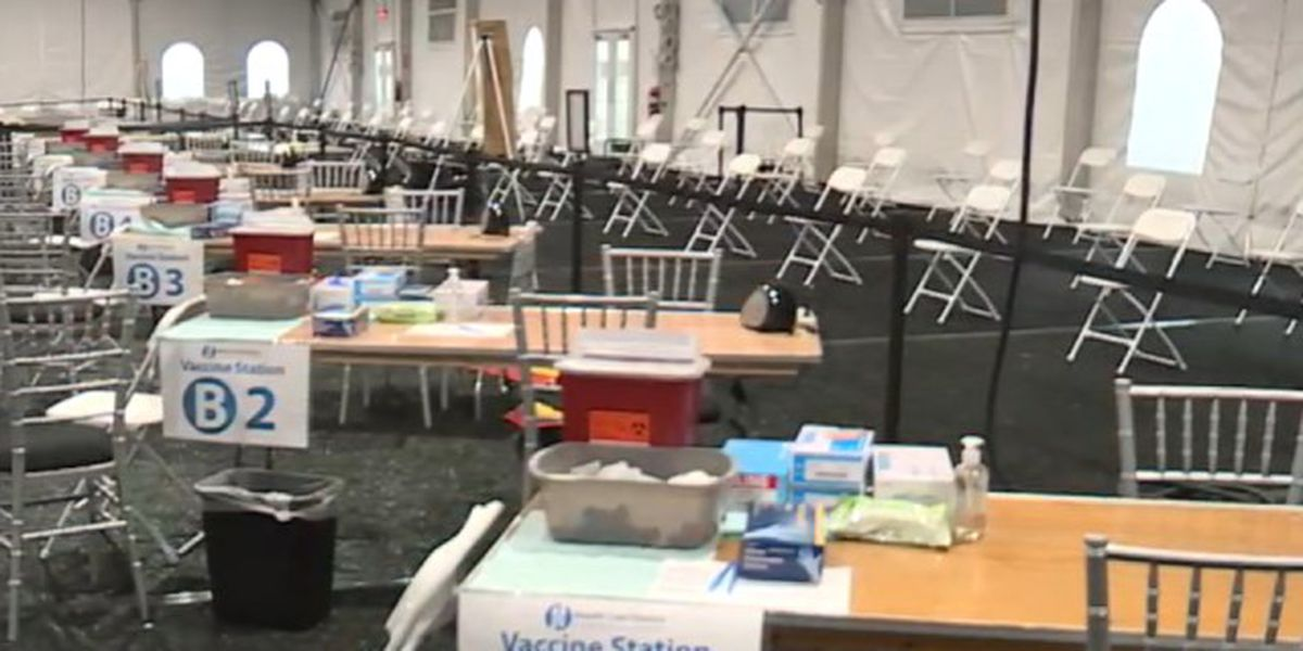 Mass COVID-19 vaccination site opens at South Florida Fairgrounds