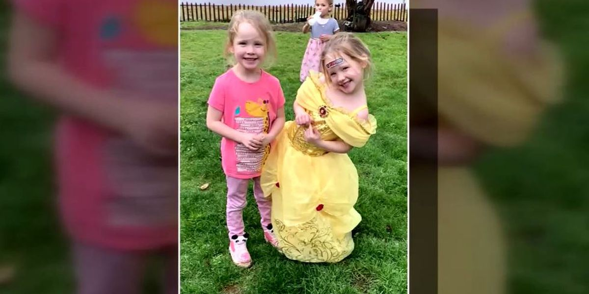 4-year-old twins free selves, climb to safety after dad dies in car crash