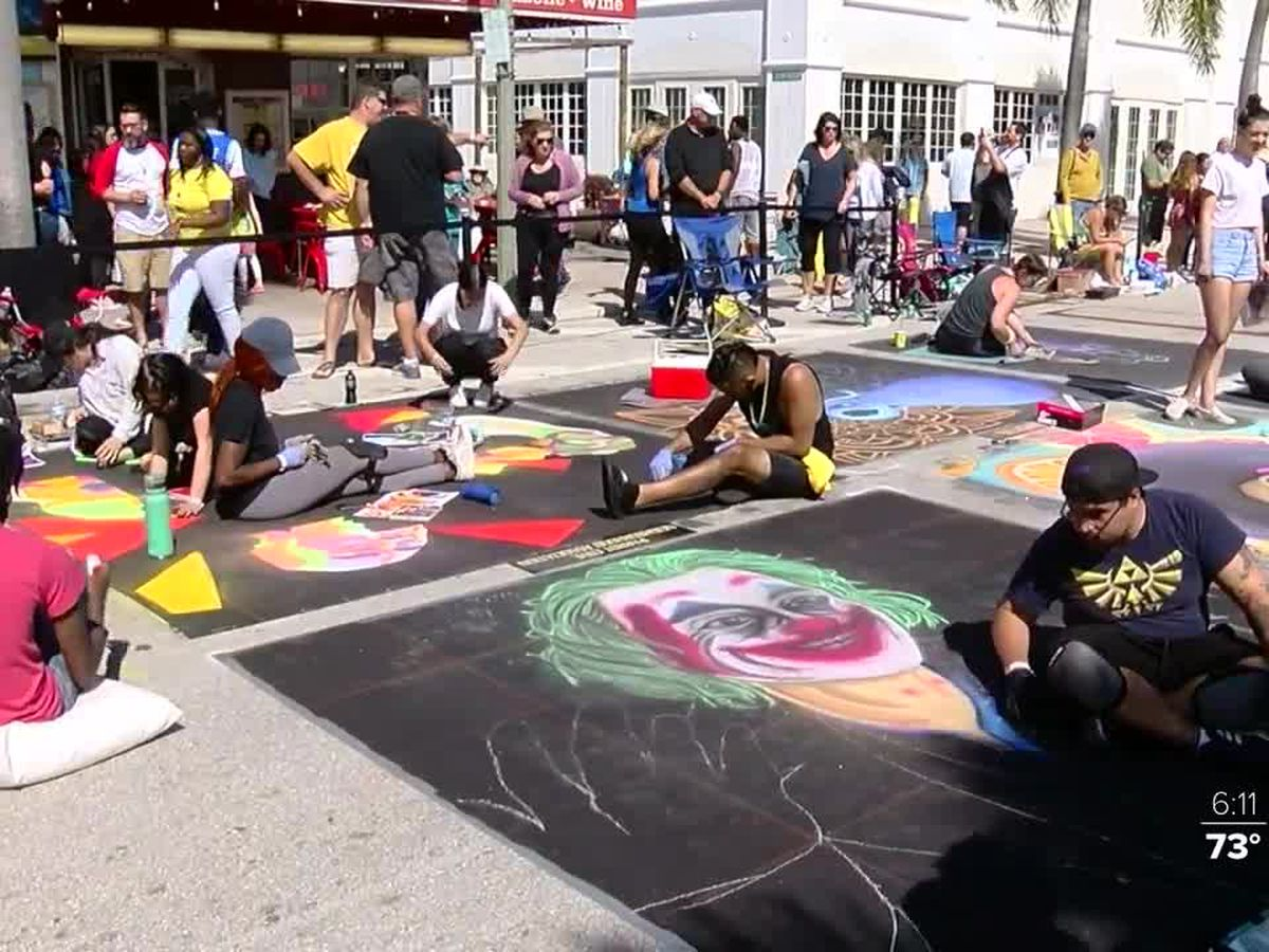 26th annual Street Painting Festival held in Lake Worth Beach