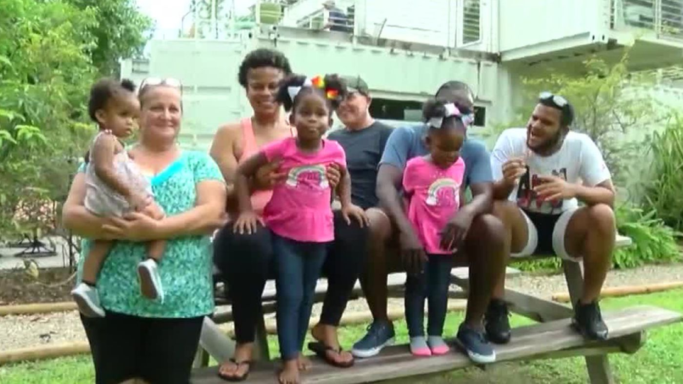 Jupiter Farms man donates shipping container home to Bahamian family displaced by Dorian