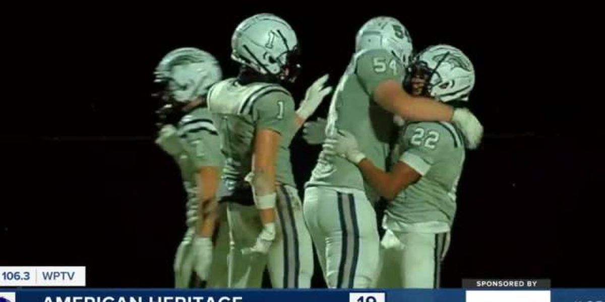 Highlights from opening night of Palm Beach Co. high school 🏈