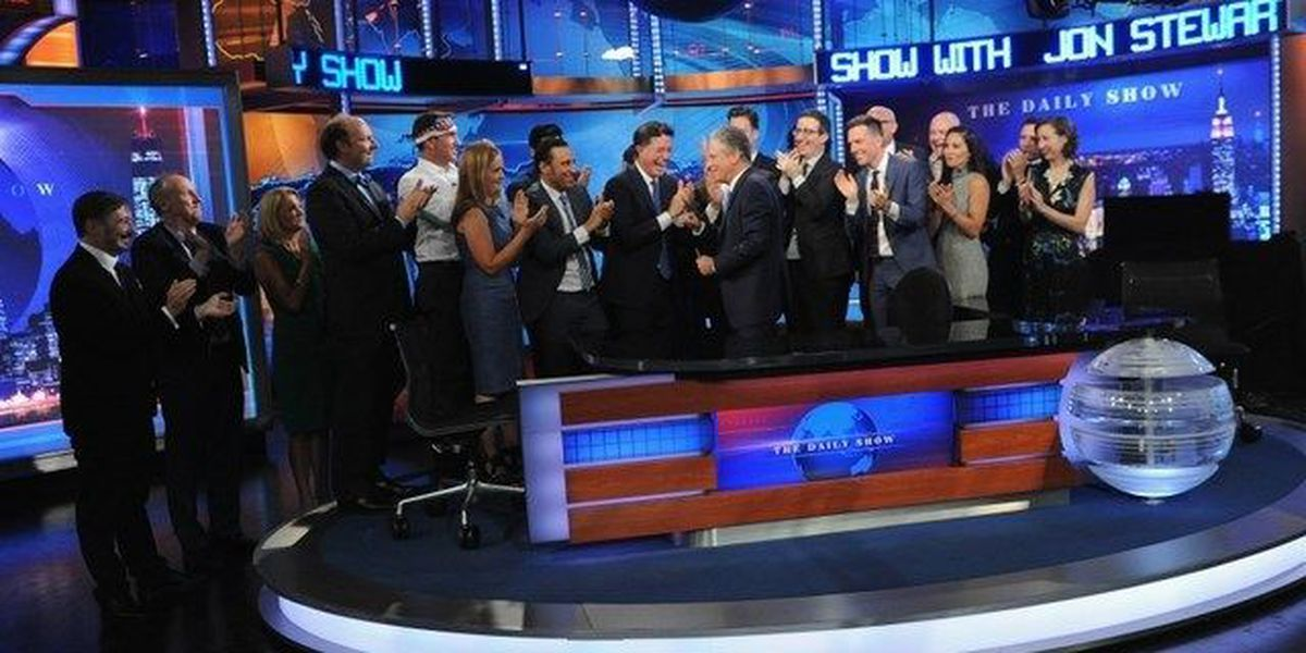 Jon Stewart signs off 'The Daily Show'