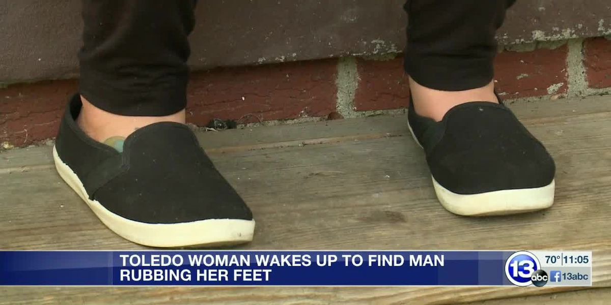Woman who says she woke up to man rubbing her feet encourages others to check door locks
