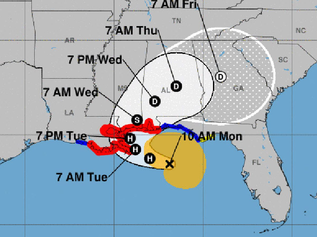 Hurricane Sally S Threat Potentially Historic Floods Fierce Winds