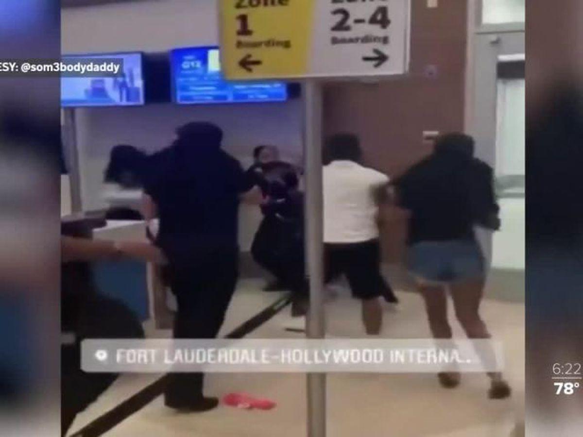 Deputies: 3 women attacked airline workers in Fort Lauderdale