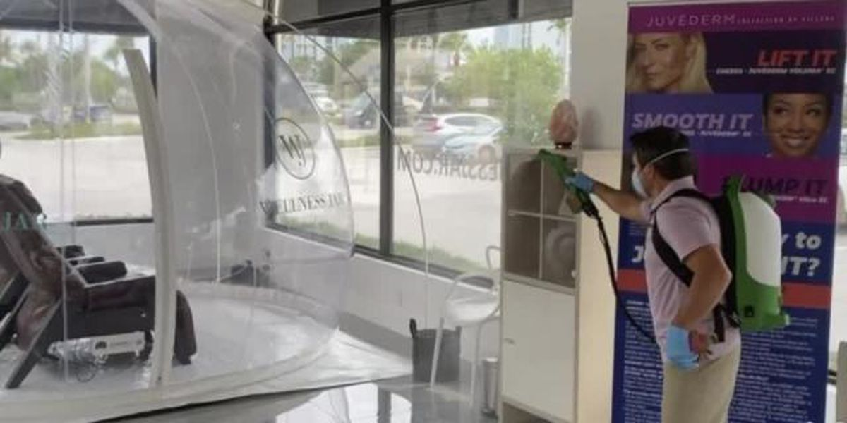 Local medical spa uses new technology to stay safe during pandemic