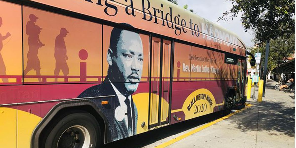 Palm Tran rolls out Black History bus, second bus coming