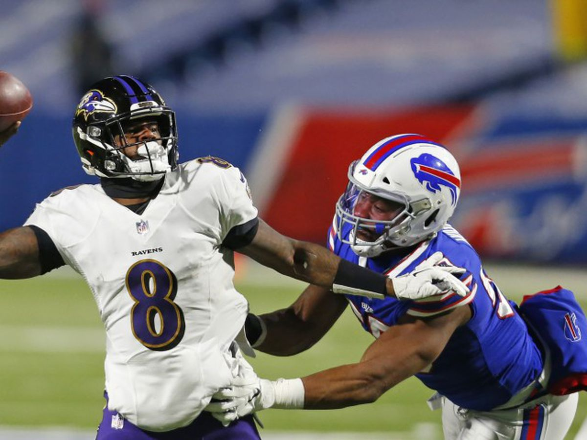 Bills knock Ravens, Lamar Jackson in playoffs, headed to AFC title game