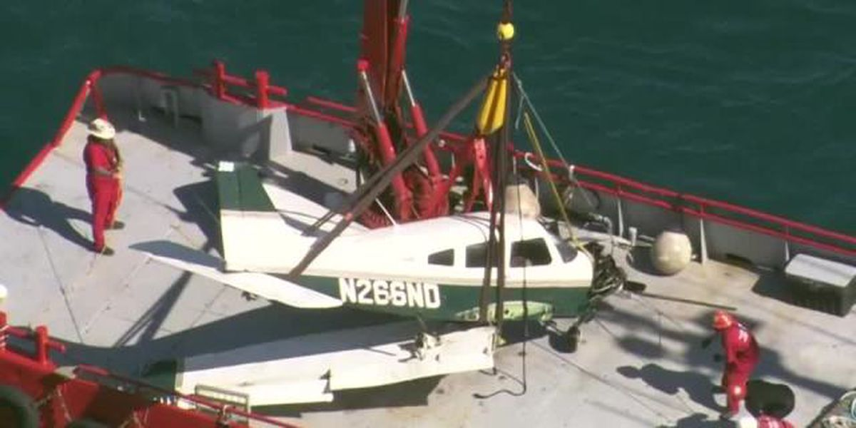 Plane pulled from ocean after fatal crash near Boynton Beach