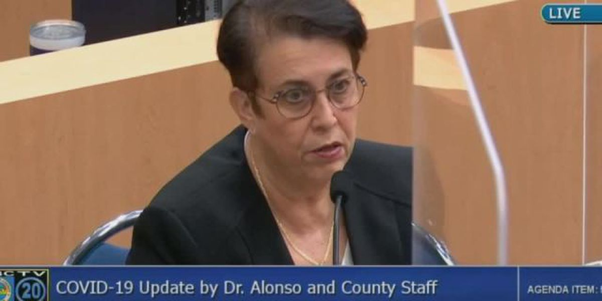 Alonso: Palm Beach Co. should be prepared for 'additional control measures'