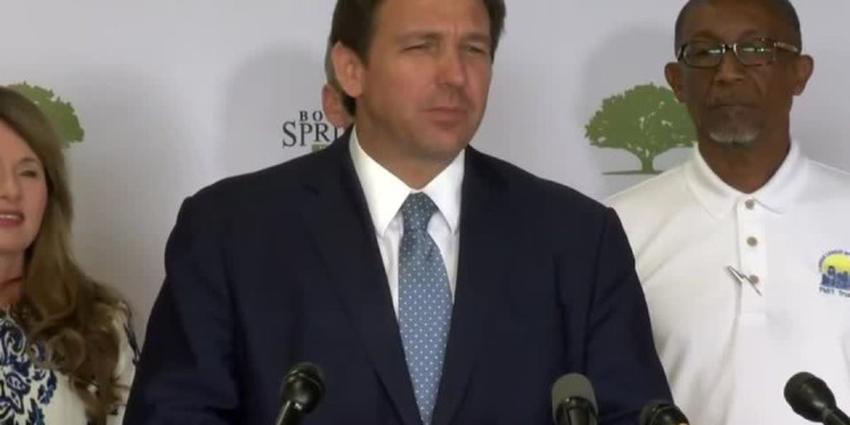 Gov. DeSantis announces $150 million for 'more resilient infrastructure'
