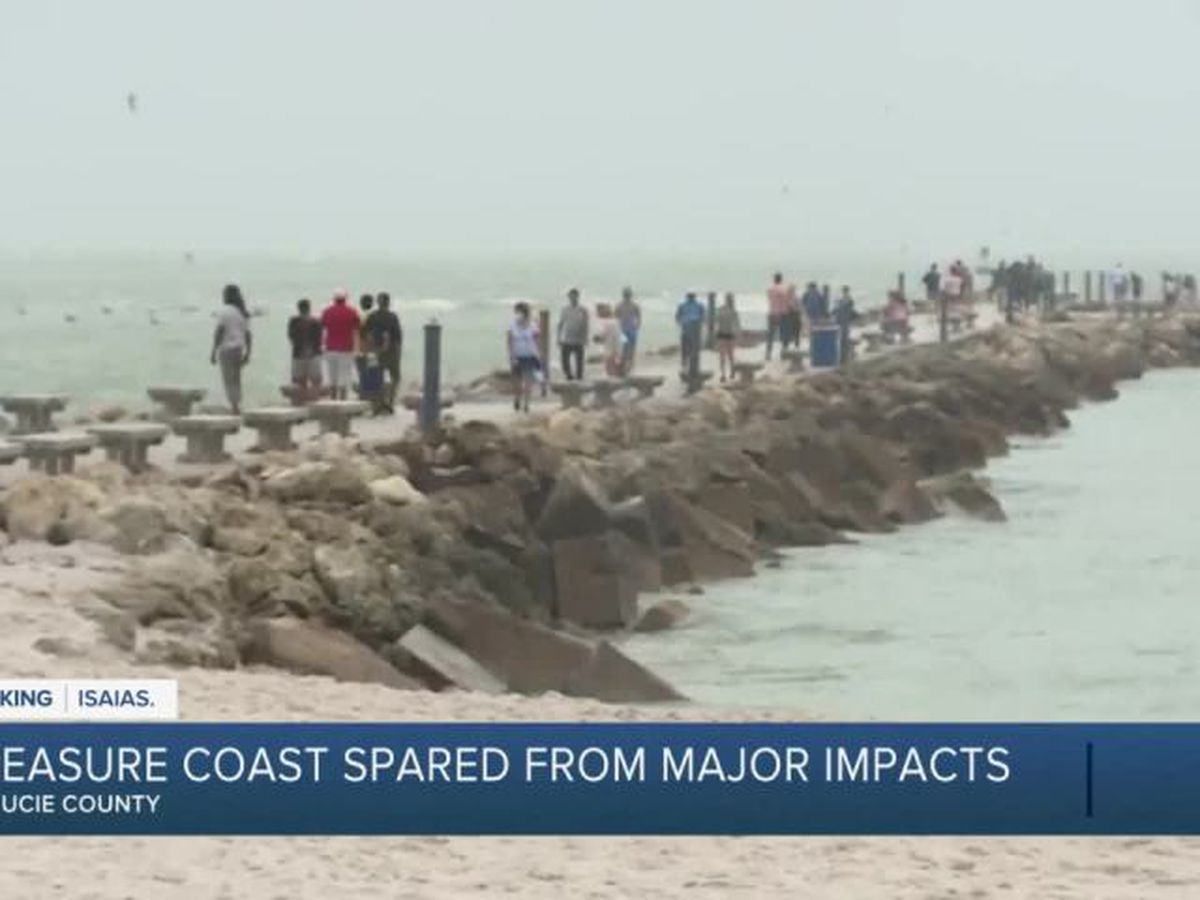 Treasure Coast spared from major impacts of Isaias
