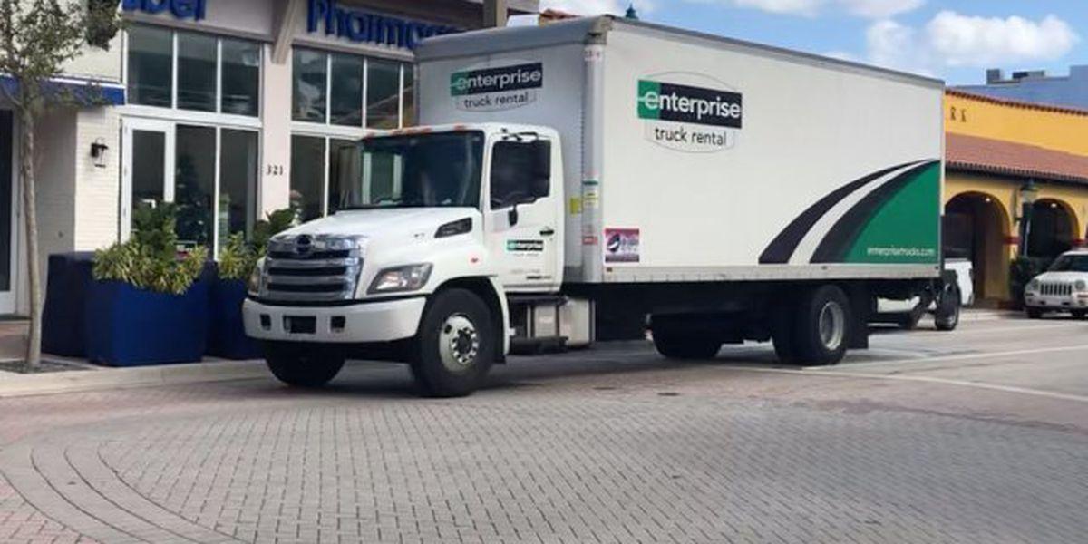 Delray seeks to curb large trucks on Atlantic Avenue