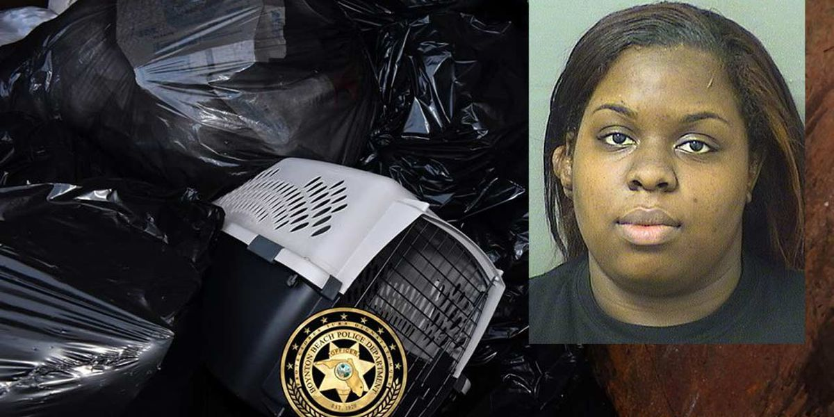 Woman arrested after 2 dead dogs found in Boynton dumpster