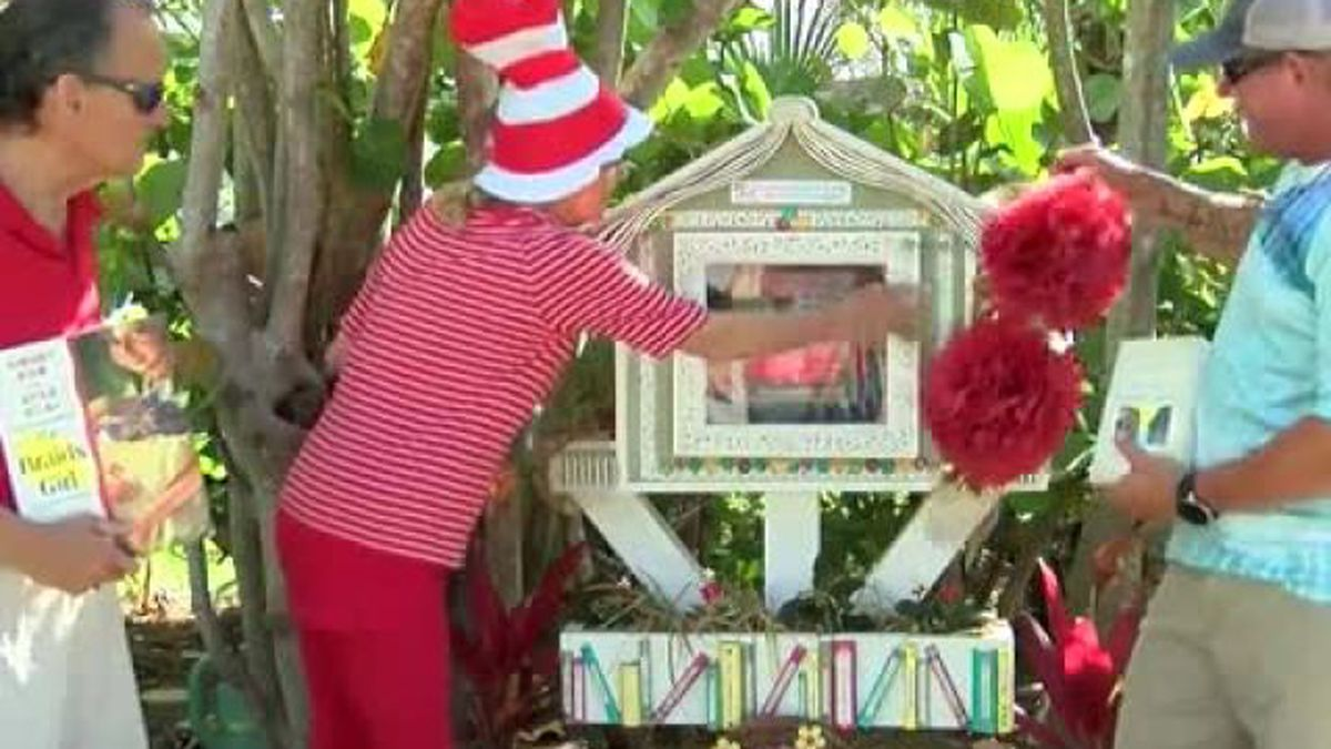 New 'little free library' opened in Jupiter