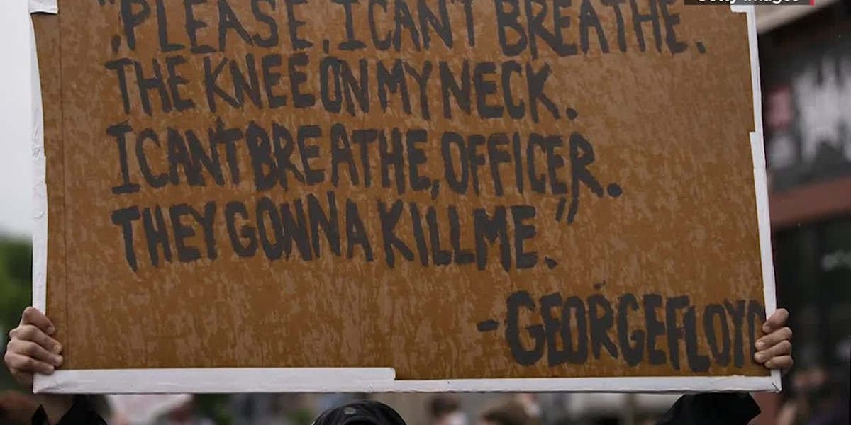 Heated protests over George Floyd's death continue
