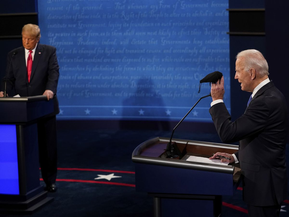 Trump, Biden fight over the raging virus, climate and race