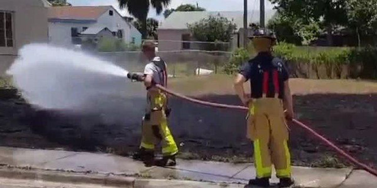 Fireworks spark two fires in Riviera Beach