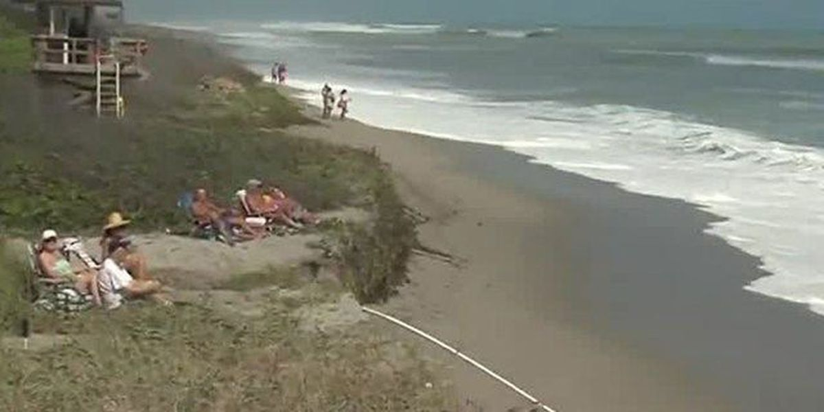 Strong surf pounds beaches, may impact turtles