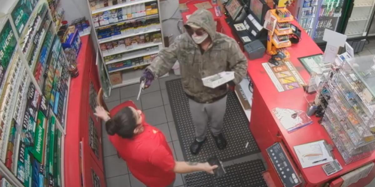 Fla. gas station clerk to gunman: 'You won't go too far'