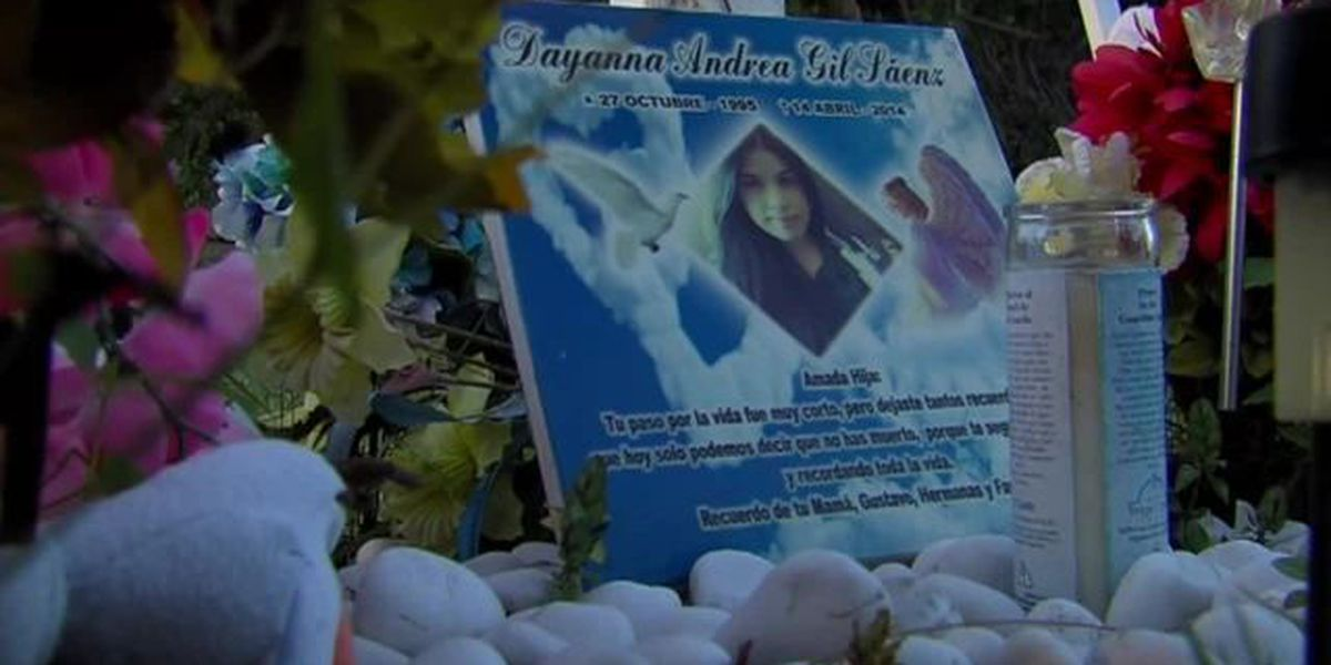Angel stolen from teen's roadside memorial