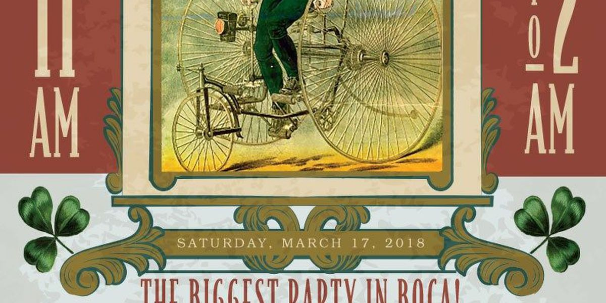 The Dubliner hosts St. Patrick's Day block party in Boca Raton