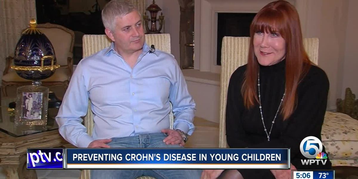 Wellington mother, son raise awareness about Crohn's disease