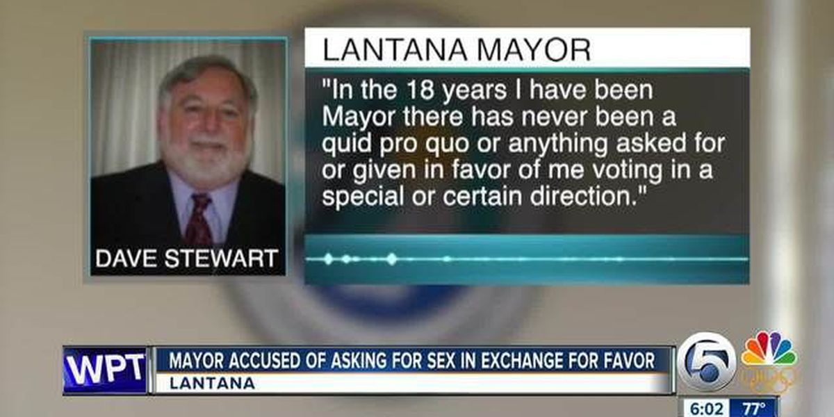 Local mayor accused of sexual harassment
