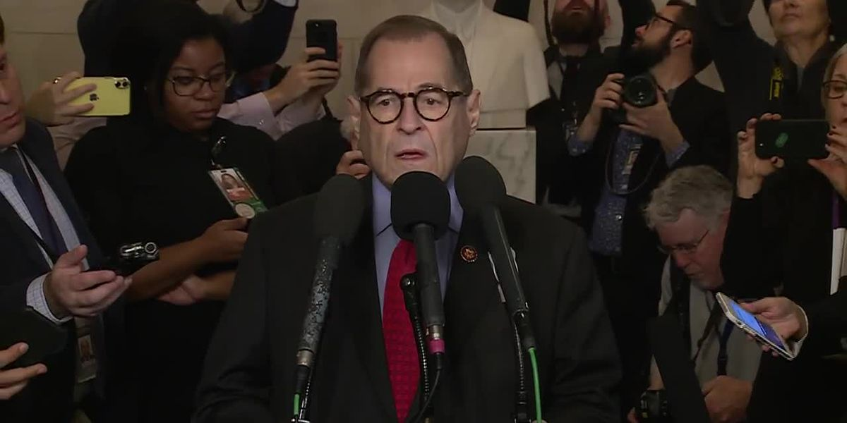 'A solemn and sad day:' House Judiciary panel chairman reflects on impeachment vote