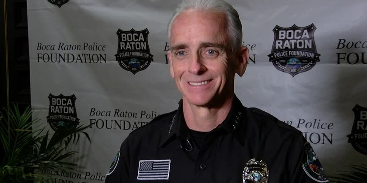 Boca Raton Police Chief Dan Alexander retiring to take position with school district police