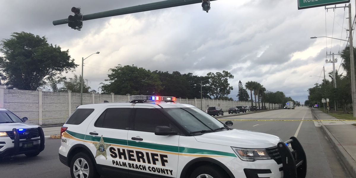 Crash victim found shot, ejected from vehicle near West Palm