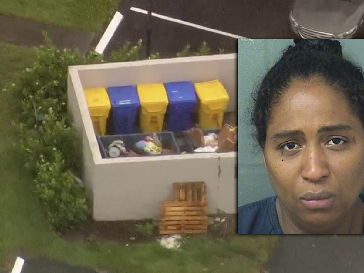 Mother of newborn baby found alive in dumpster in suburban Boca Raton pleads not guilty