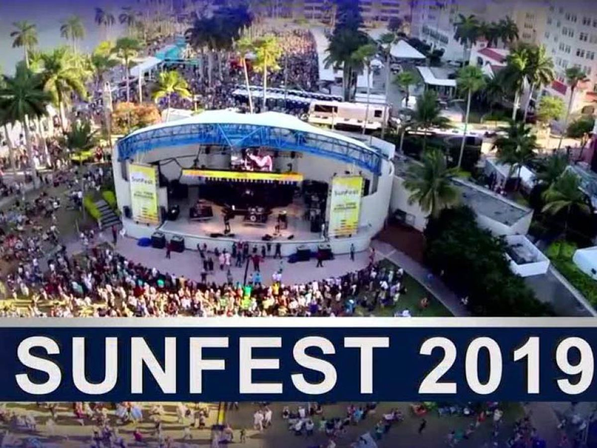Road closures in downtown West Palm Beach begin in preparation of SunFest