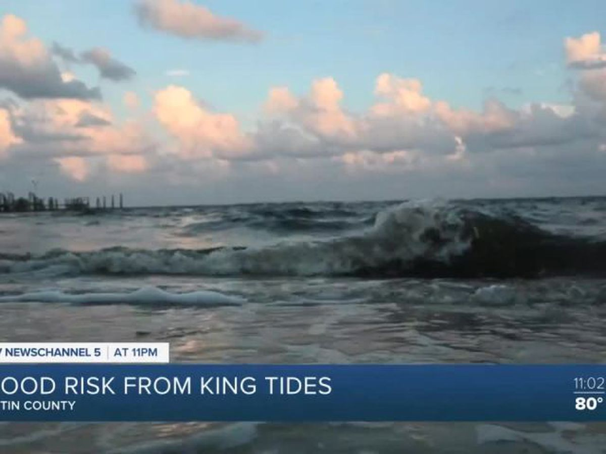Areas of Martin County under flood advisory as king tide approaches