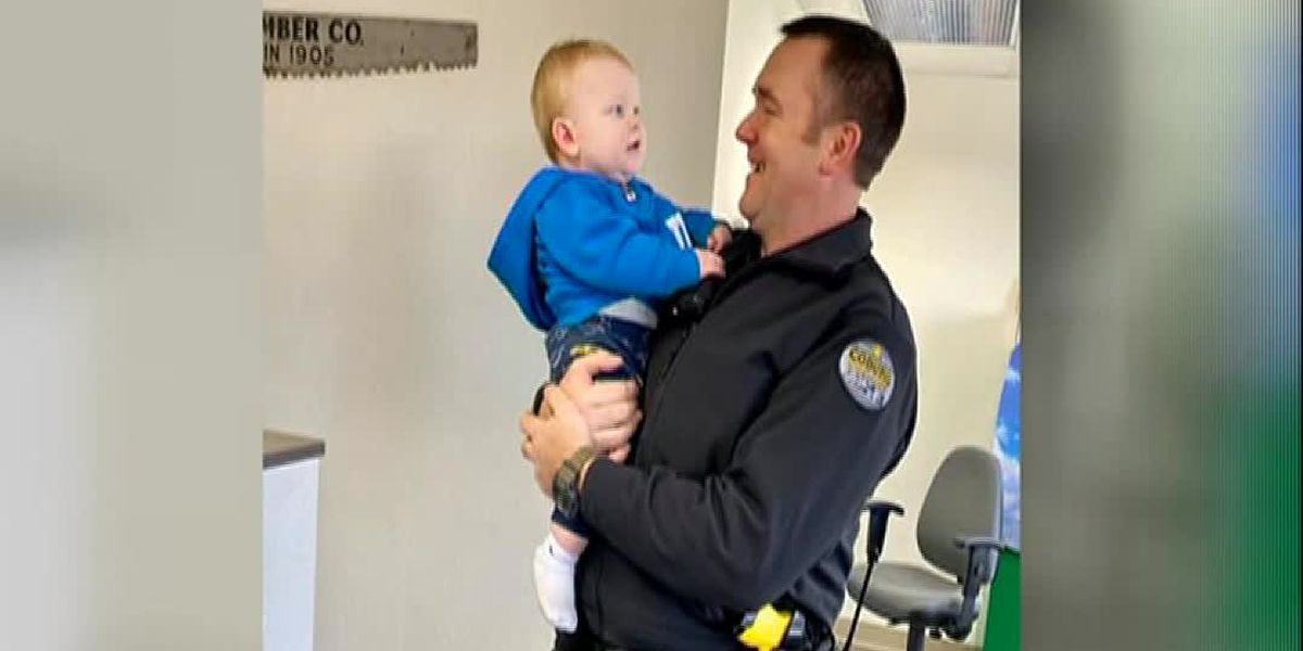 'I've never felt so relieved': Police rescue baby who fell down heating vent in Ore. home