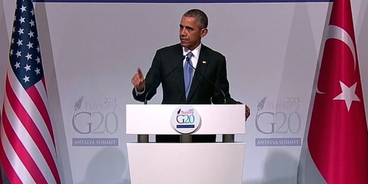 President Obama defends 'right strategy' on fighting ISIS