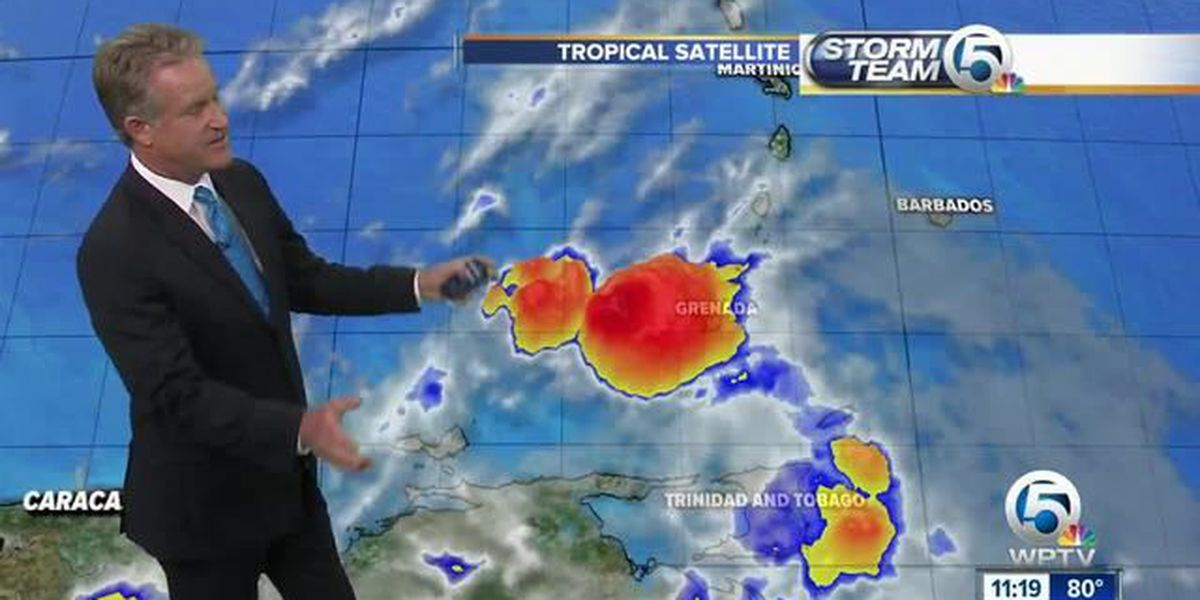 TS Don downgraded to Tropical Wave