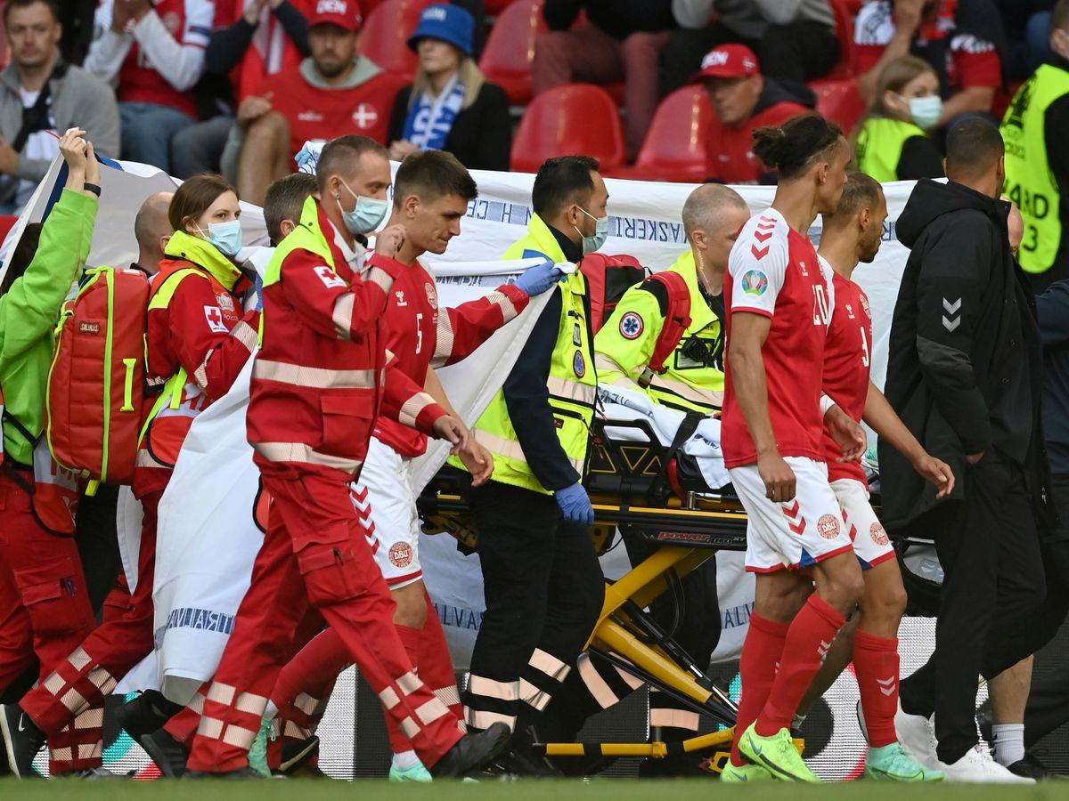 Doctor: Eriksen 'was gone' before being resuscitated