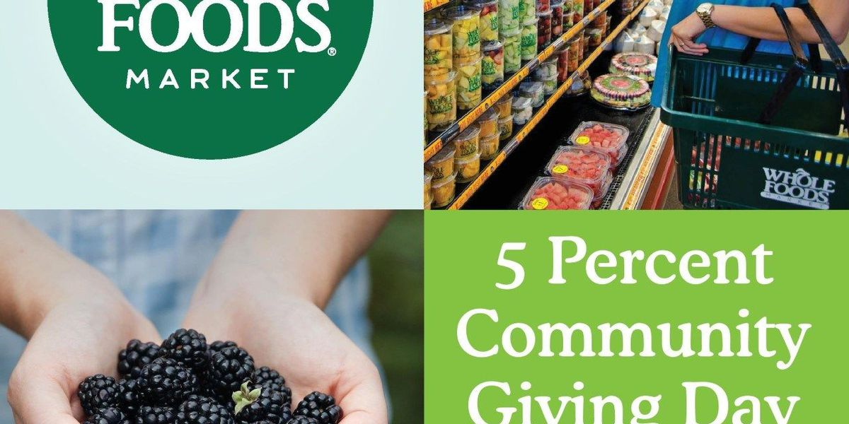 Whole Foods Market Palm Beach County Hosts Day of Giving